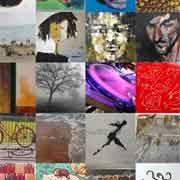 Extrait de la sélection exposition Voeux d'artiste