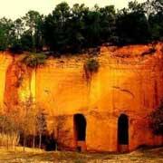 Les mines d'ocre de Bruoux à Gargas