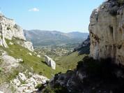 Les collines de Pagnol depuis Roquevaire