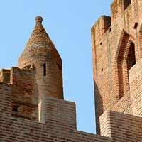 Simmore, église fortifiée de Gascogne, vue 2